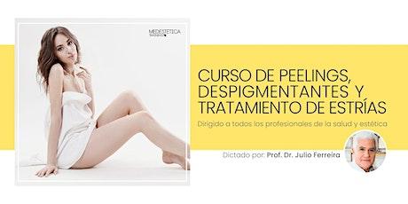 Curso de Peelings, Despigmentantes y Tratamiento de Estrías entradas