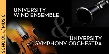 University Wind Ensemble, University Symphony Orchestra Virtual Performance tickets