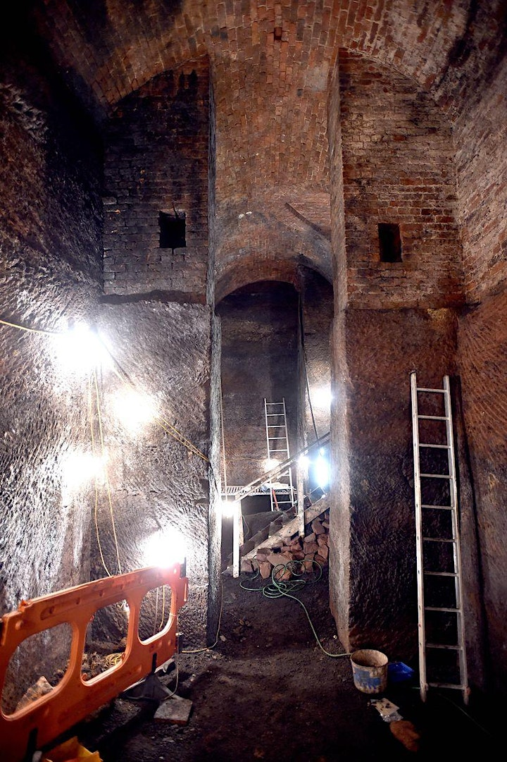 Underground Tunnels of Liverpool –  Zoom tour with Ed Glinert image