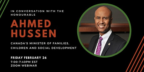 ASSU Presents: Black Perspectives, A Conversation with Hon. Ahmed Hussen tickets