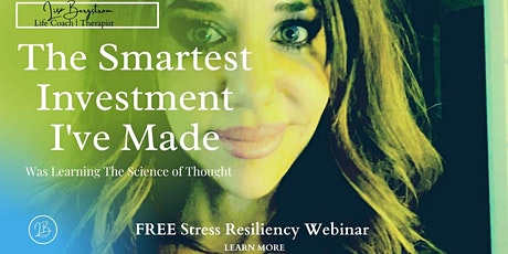 Become Stress Resilient; Have Confidence to Face Challenges & Feel at Peace tickets