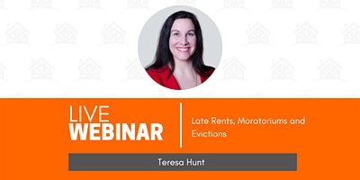 Late Rents, Moratoriums and Evictions | Teresa Hunt