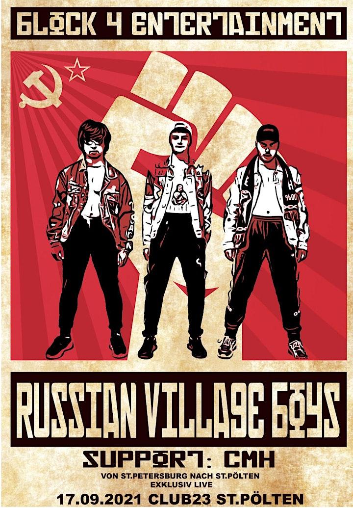 Russian Village Boys Live Support: CMH: Bild