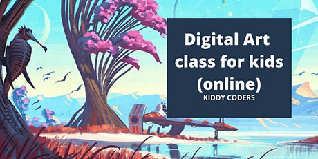 Digital and Fine Art Private Class for Kids (online) tickets