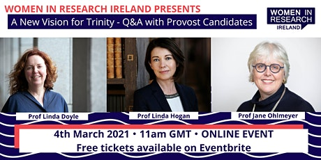 A New Vision for Trinity: Q & A with Provost Candidates tickets