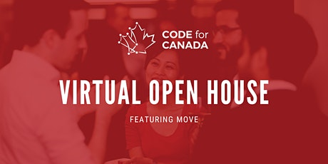 Code for Canada Open House: Featuring MOVE tickets
