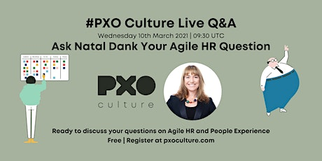 Ask Us Anything About Agile HR Live Q&A tickets