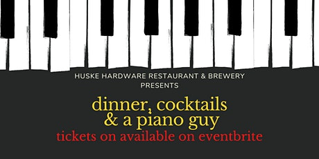 Dinner & Cocktails with the Piano Guy tickets