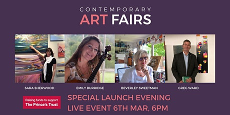 Contemporary Art Fairs Surrey (Spring) 2021 - Special Launch Event tickets