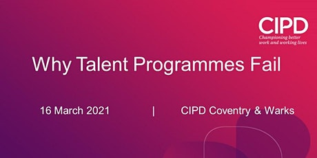 Why Talent Programmes Fail tickets