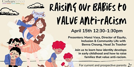 Raising our Babies to Value Anti-Racism tickets
