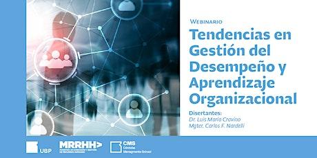 Webinario> Tendencias en Gestión del Desempeño y Aprendizaje Organizacional entradas