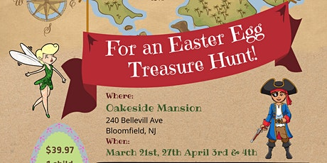 Neverland Easter Egg Treasure Hunt! 11:10AM tickets