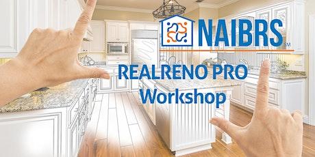 Basic Renovation Estimates using RealReno Pro - Workshop 2 tickets