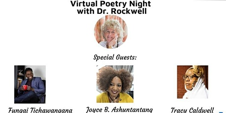 Virtual Poetry Night with Doctor  Lindsay Rockwell tickets