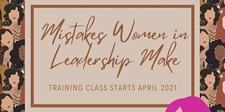 Women in Leadership - Mistakes to Avoid tickets