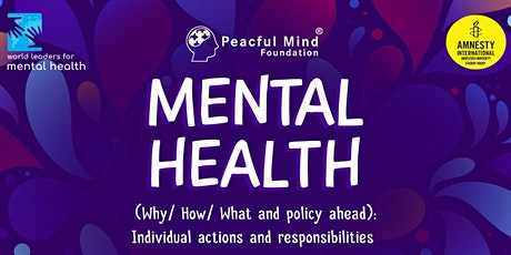 Peaceful Mind Foundation's Mental Health Webinar Series tickets