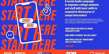 "Active* Consent, USI and GRCC Launch of ""Start Here"" Social Media Campaign tickets"