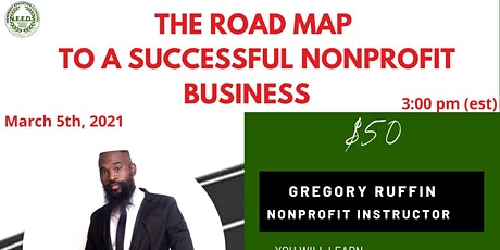 The Road Map To A Successful Nonprofit Business Webinar tickets