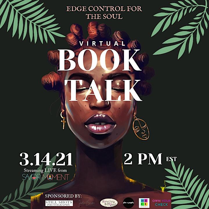Edge Control for the Soul Virtual Book Talk image