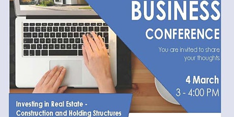 Investing in Real Estate: Construction and Holding Structures tickets