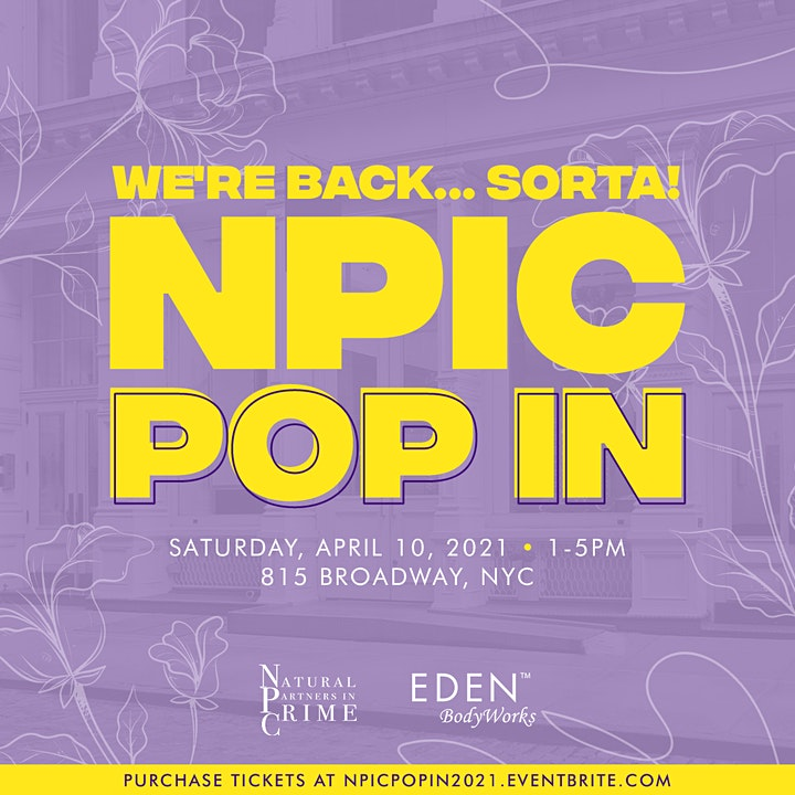 We Back... Sorta! NPIC POP-IN image