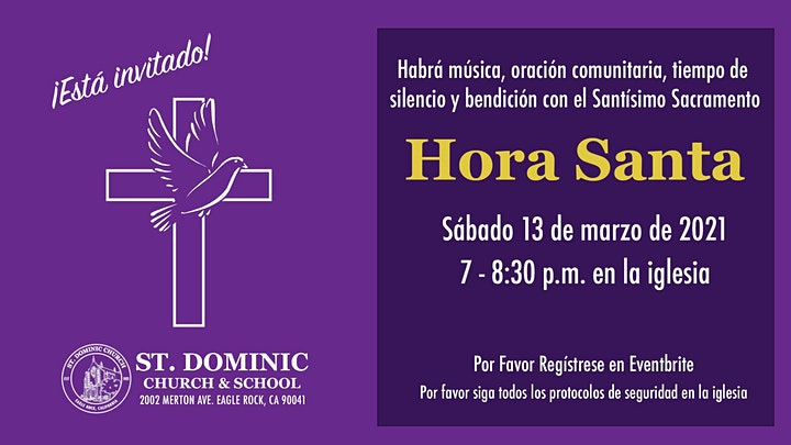 Holy Hour at Saint Dominic Church image