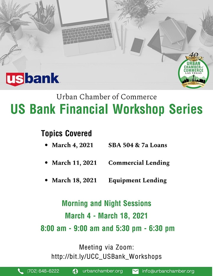 US Bank Financial Workshop Series image