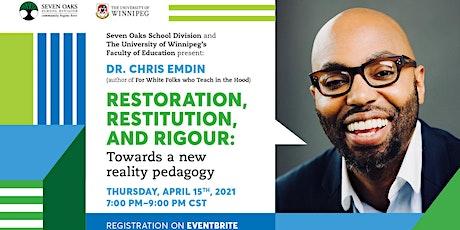 Dr. Chris Emdin tickets