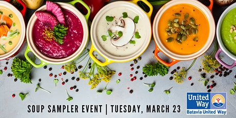 Soup Sampler Pack - Curbside Carry Out Event tickets