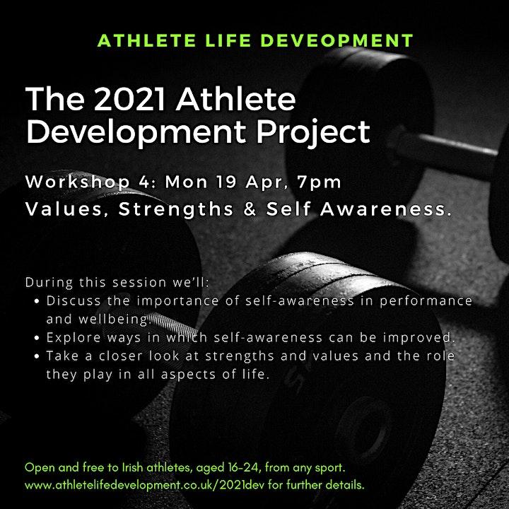 2021 Athlete Development Project Workshop 4 image
