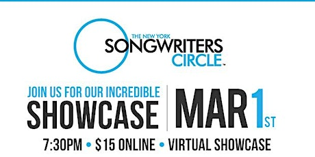 New York Songwriter's Circle March 1st Showcase tickets