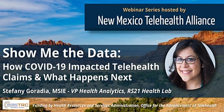 Show Me the Data: How COVID-19 Impacted Telehealth Claims & What's Next tickets