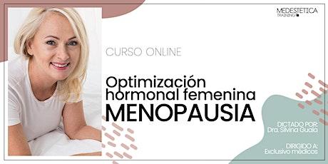 Menopausia. Optimización hormonal femenina entradas