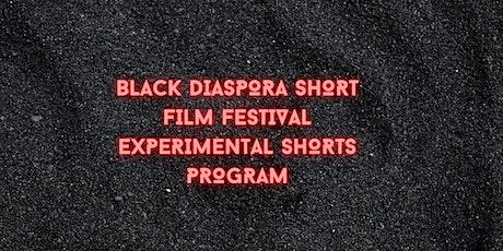 Black Diaspora Short Film Festival: Experimental Shorts Program tickets