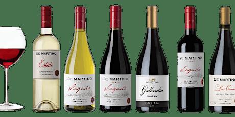 Virtual Winery Spotlight: De Martino tickets