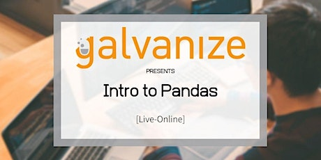 Intro to Pandas [Live-Online] tickets