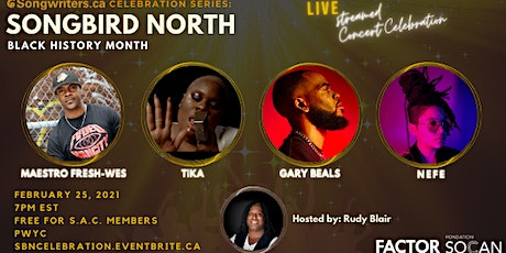 S.A.C. Celebration Series and SongBird North Black History Month tickets