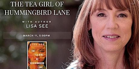 "Lisa See, ""The Tea Girl of Hummingbird Lane"" tickets"