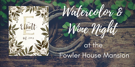 Watercolor & Wine Night tickets