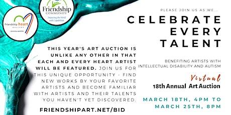 18th Annual Art Auction (Virtual) tickets