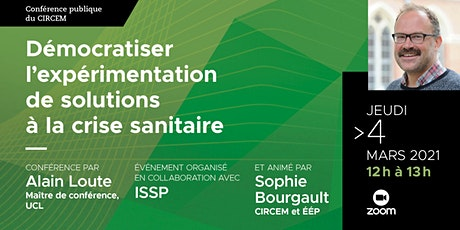Conférence publique d'Alain Loute tickets