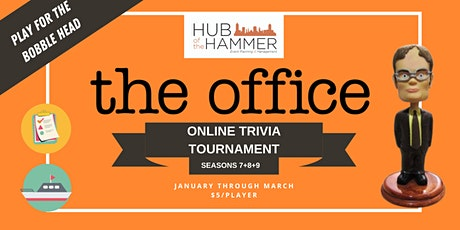 The Office Trivia Tournament - Seasons 7 + 8 + 9 tickets