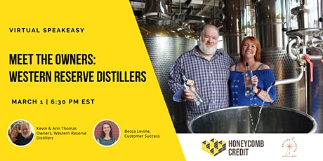 Meet the Owner: Western Reserve Distillers Virtual Speakeasy tickets