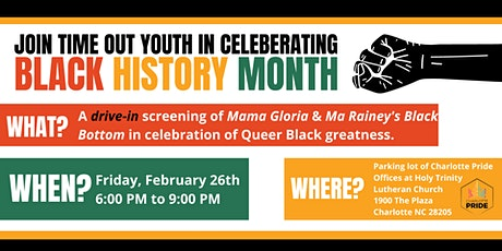 Black History Month Drive In - Ma Rainey Black Bottom tickets