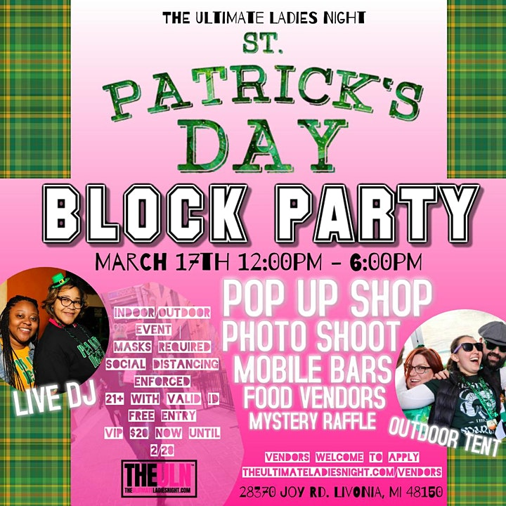 St. Patrick's Day Block Party image