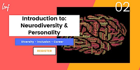 Introduction to: Neurodiversity & Personality tickets