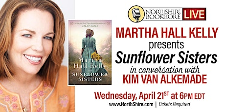 "Northshire Live: Martha Hall Kelly ""Sunflower Sisters"" tickets"