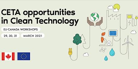 2021 Canada – European Virtual Workshop on Cleantech Opportunities tickets
