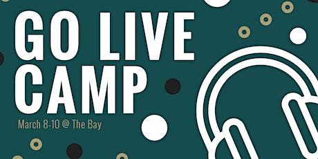 Spring Break Camp   Go Live tickets